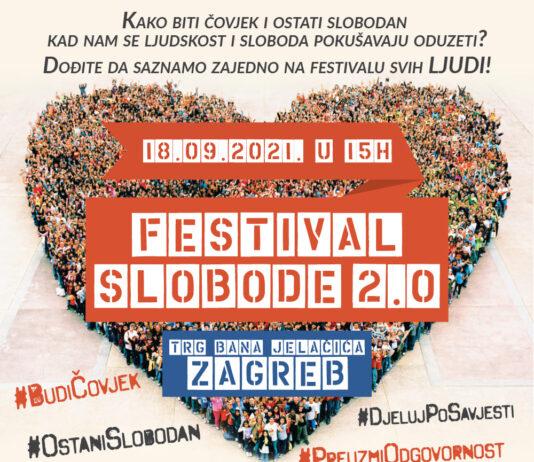 2. Festival slobode u Zagrebu u organizaciji Inicijative Prava i Slobode